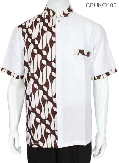 Baju Muslim Koko Motif Parang Barong