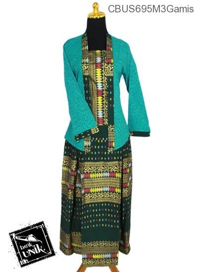 Baju Batik Sarimbit Setelan Family Motif Songket Tumpal