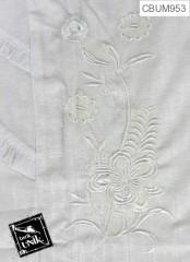 Gamis Anak Harum Motif Bunga Putih Size 3,4