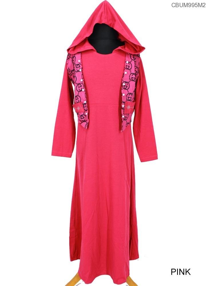 Gamis Kaos Anak Tudung Gucci Baju Muslim Anak Murah Batikunik Com