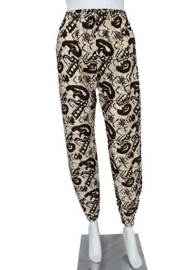 Celana Aladin Motif Sogan Batangan