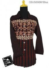 Baju Batik Sarimbit Blus Motif Udan Liris