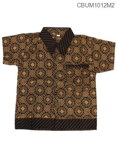 Baju Batik Anak Motif Capocino Size S