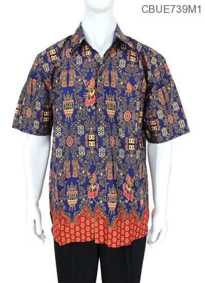 Baju Batik Kemeja Ekslusive Motif Asmat Modern