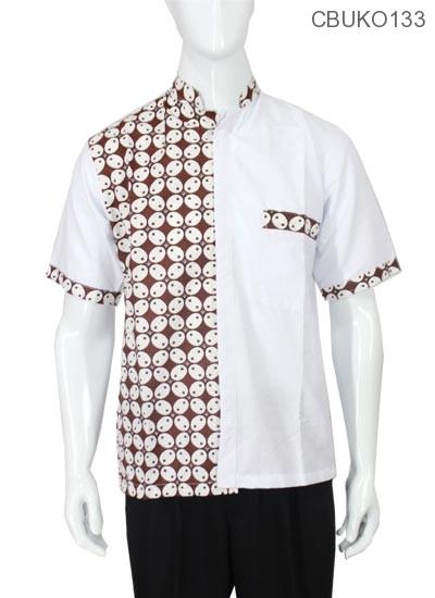 Kemeja Batik Koko Motif Kawung Picis