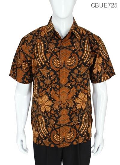 Kemeja Pendek Batik Baturaden Motif Gurdo Turi