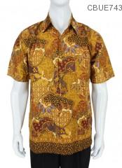Kemeja Batik Madura Motif Sekar Jagad Modern