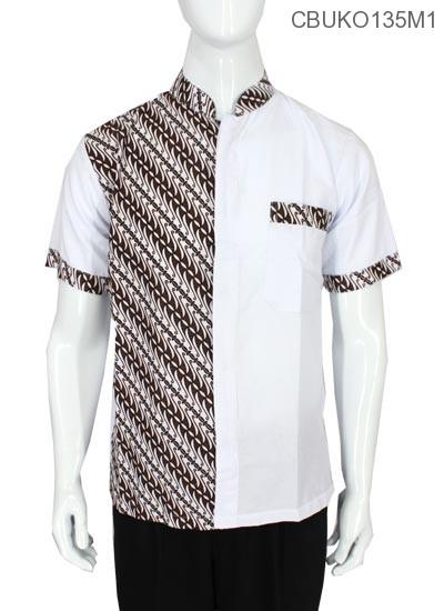 Baju Muslim Koko Motif Parang Kitir