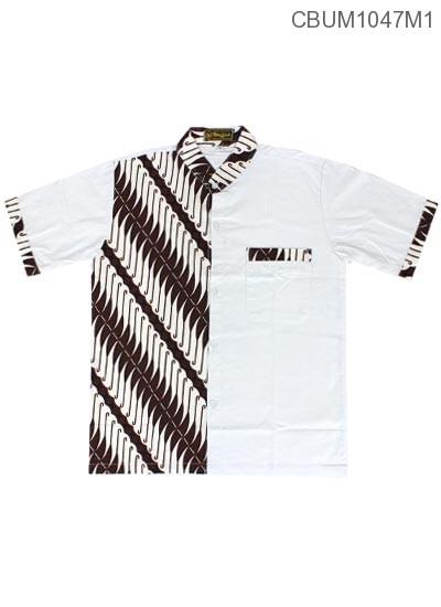 Baju Muslim Koko ( usia SD-SMP ) Motif Parang Cengkol