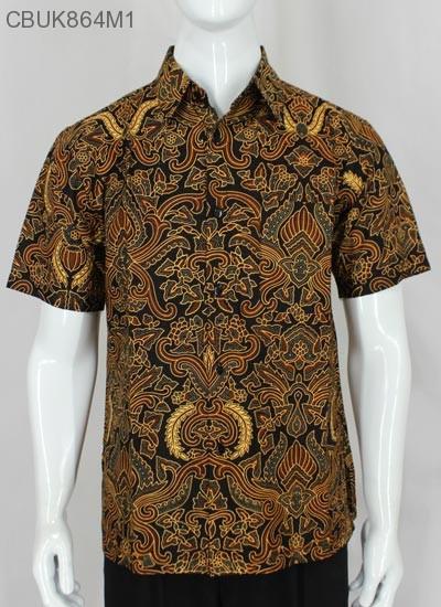 Kemeja Batik Motif Pisang Bali