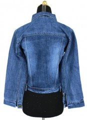 Jacket Jeans Basic Embos