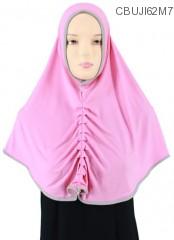 Jilbab Syiria Mix List Lipit Depan