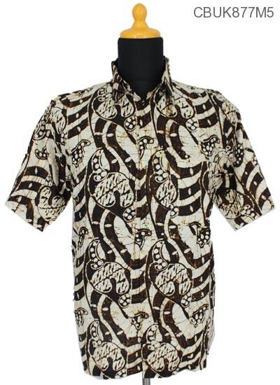 Kemeja Batik Katun Motif Batangan