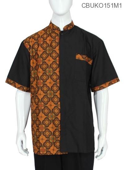 Koko Batik Jumbo Katun Motif Ceplok