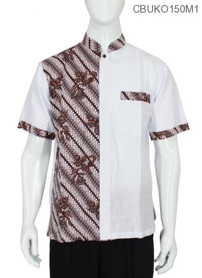 Koko Batik Katun Motif Parang Pancing Daun