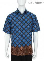 Baju Batik Kemeja Ceplok Manuk