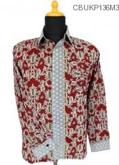 Kemeja Batik Panjang Motif Toraja