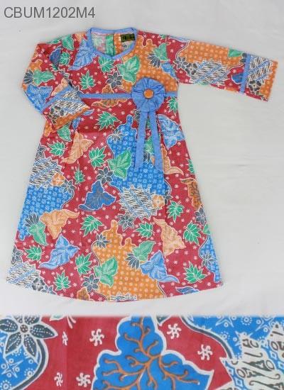 Gamis Anak Sekar Rum Bunga No 2 3 4 Baju Muslim Anak
