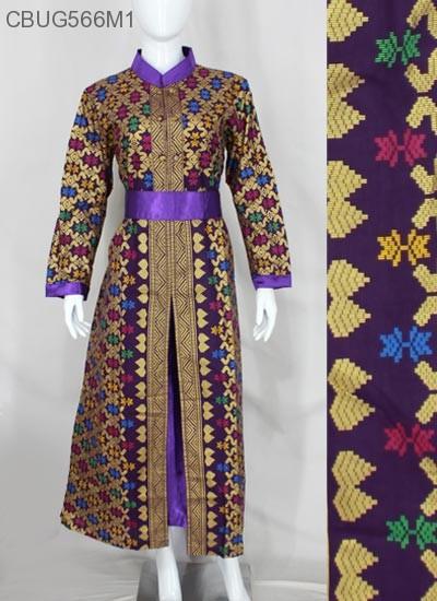 Gamis Batik Songket Prodo Gamis Batik Murah Batikunik Com