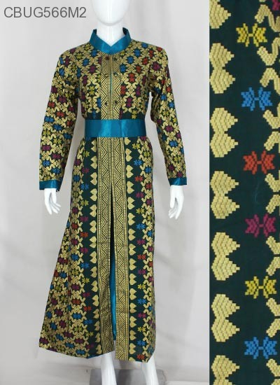 Gamis Batik Songket Prodo