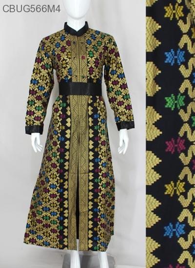 Gamis Batik Songket Prodo Gamis Batik Murah