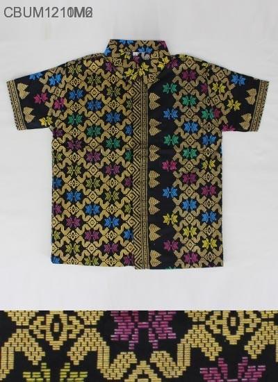 Kemeja Batik Anak Prodo Motif Songket