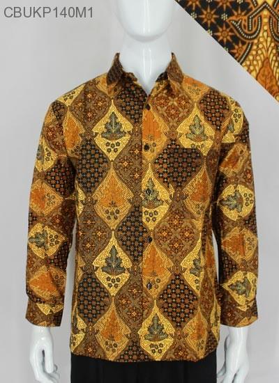 Kemeja Panjang Batik Mataraman