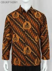 Baju Batik Kemeja Panjang Motif Gurdo Parang