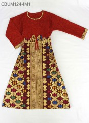 Gamis Anak Songket Size 2