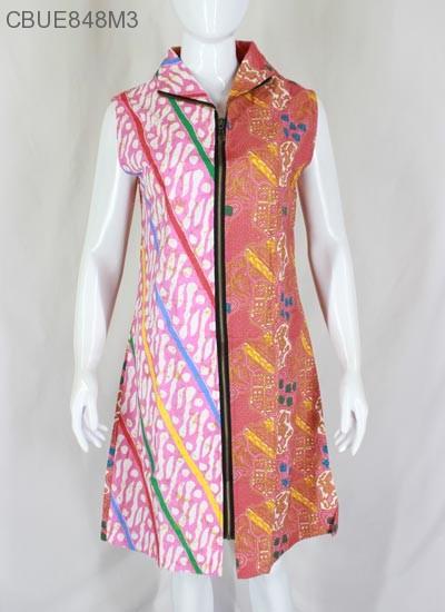 Dress Batik Rit Ykk Yosita