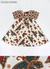 Dress Anak Nina Motif Kipas XXL