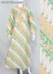 Gamis Batik Bunda Parang Cerah