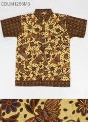 Kemeja Batik Anak Motif Kupu LLL