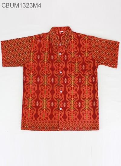 Baju Batik Anak Kemeja Songket XXL