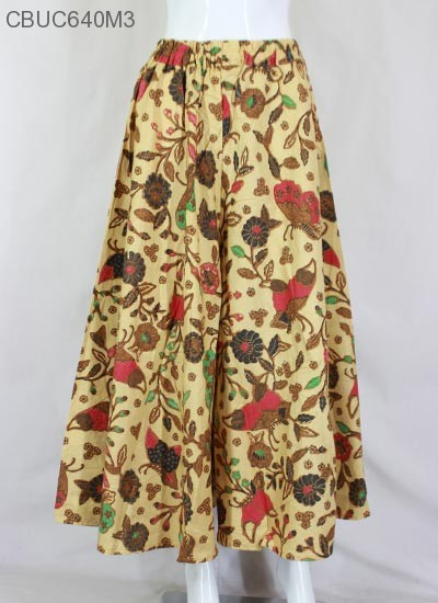 Celana Kulot Kembang Coklat