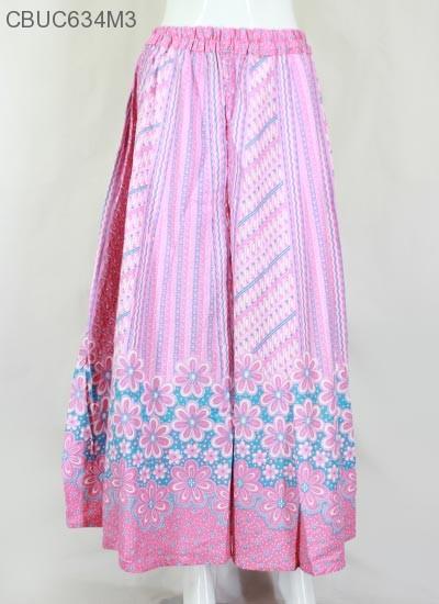 Celana Kulot Liris Bunga