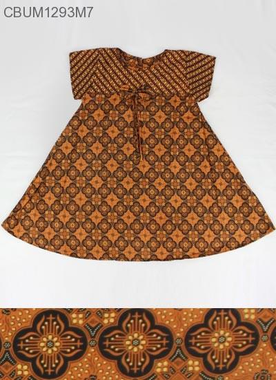 Dress Anak Nina Motif Klasik Size XXL