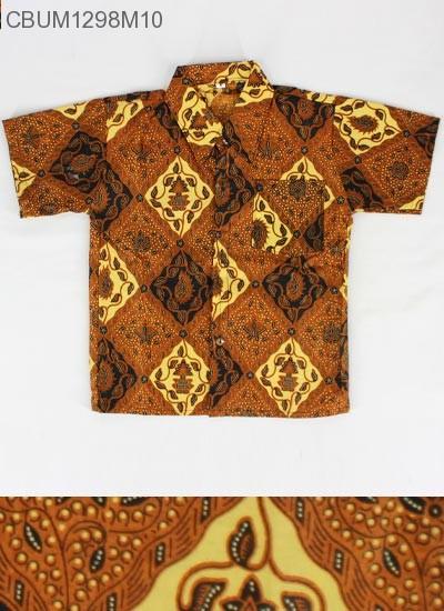 Kemeja Batik Anak Motif Klasik Size M