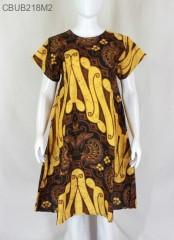 Dress Tunik Gunungan Motif Parang