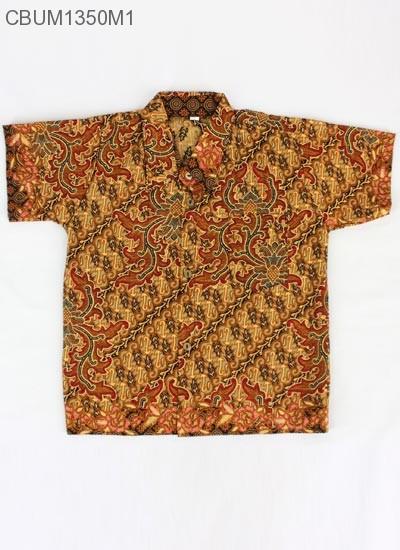 Baju Batik Anak Kemeja Parang Size L