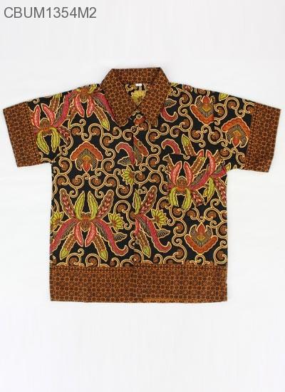 Baju Batik Anak Kemeja Pisang Bali Size L