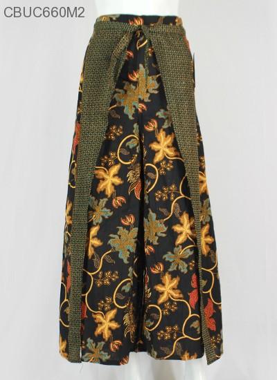Celana Kulot Rok Batik Motif Anggur