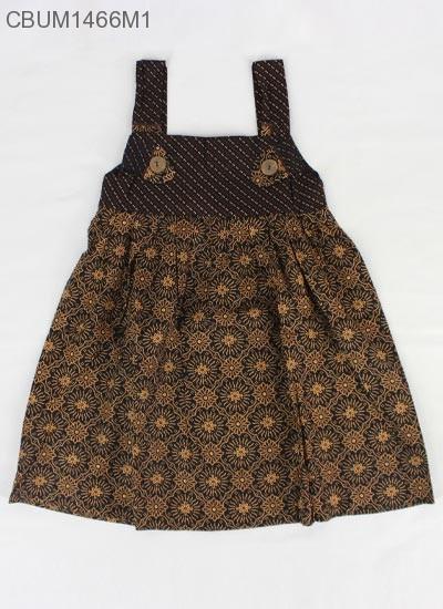 Dress Gandul Anak Motif Cappucino