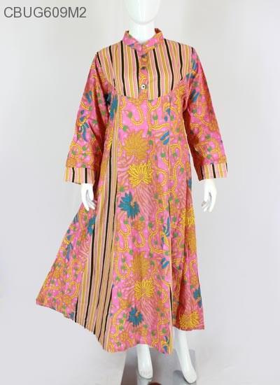 Gamis Hana Batik HAP Motif Manggar Sold Out c8b2fe25c9