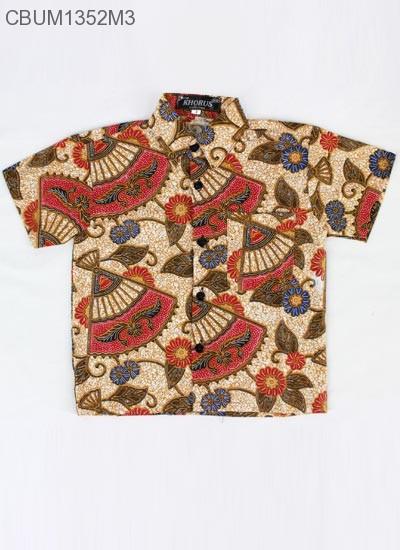 Kemeja Anak Batik Kipas Size 2