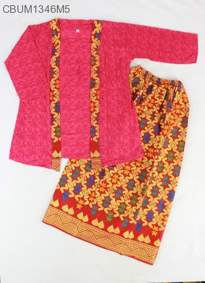 Setelan Kartini Kutubaru Anak Batik Songket Prrada (3)