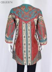 Atasan Wanita Tunik Batik Blarak 9004