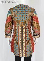 Atasan Wanita Tunik Jumbo Batik Blarak 9002