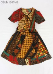 Dress Batik Anak Perca