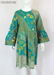 Dress Batik Jumbo Soft Motif Bunga